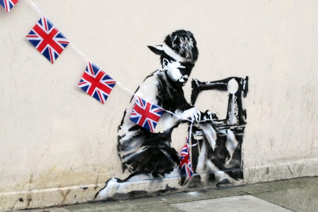 O Banksy desaparecido em Fevereiro foi vendido por um milhão